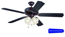 "Craftmade C204OB - 52"" Ceiling Fan - Ceiling Fan Motor only - Blades sold separately"