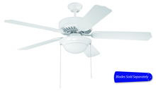 "Craftmade C209W - 52"" Ceiling Fan - Ceiling Fan Motor only - Blades sold separately"