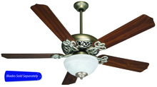 "Craftmade CCU52BN - 52"" Ceiling Fan - Ceiling Fan Motor only - Blades sold separately"