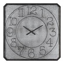 Uttermost 06436 - Uttermost Dominic Galvanized Metal Wall Clock