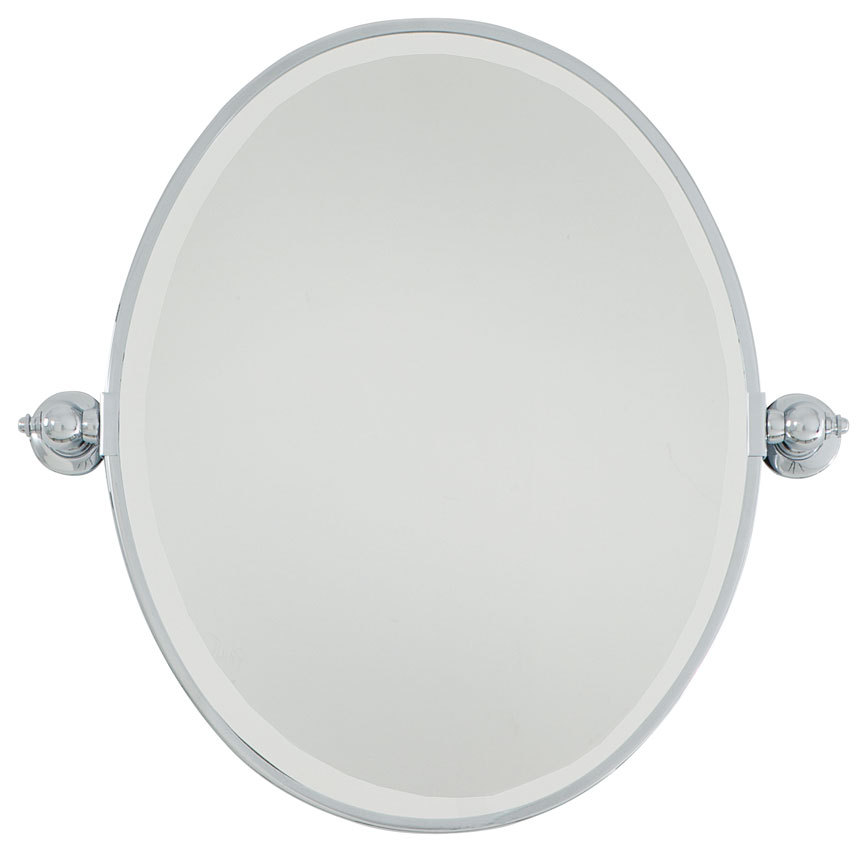 Wilkinson's House of Lighting in St.George, Utah, United States, Minka-Lavery 1431-77, Oval Mirror - Beveled,