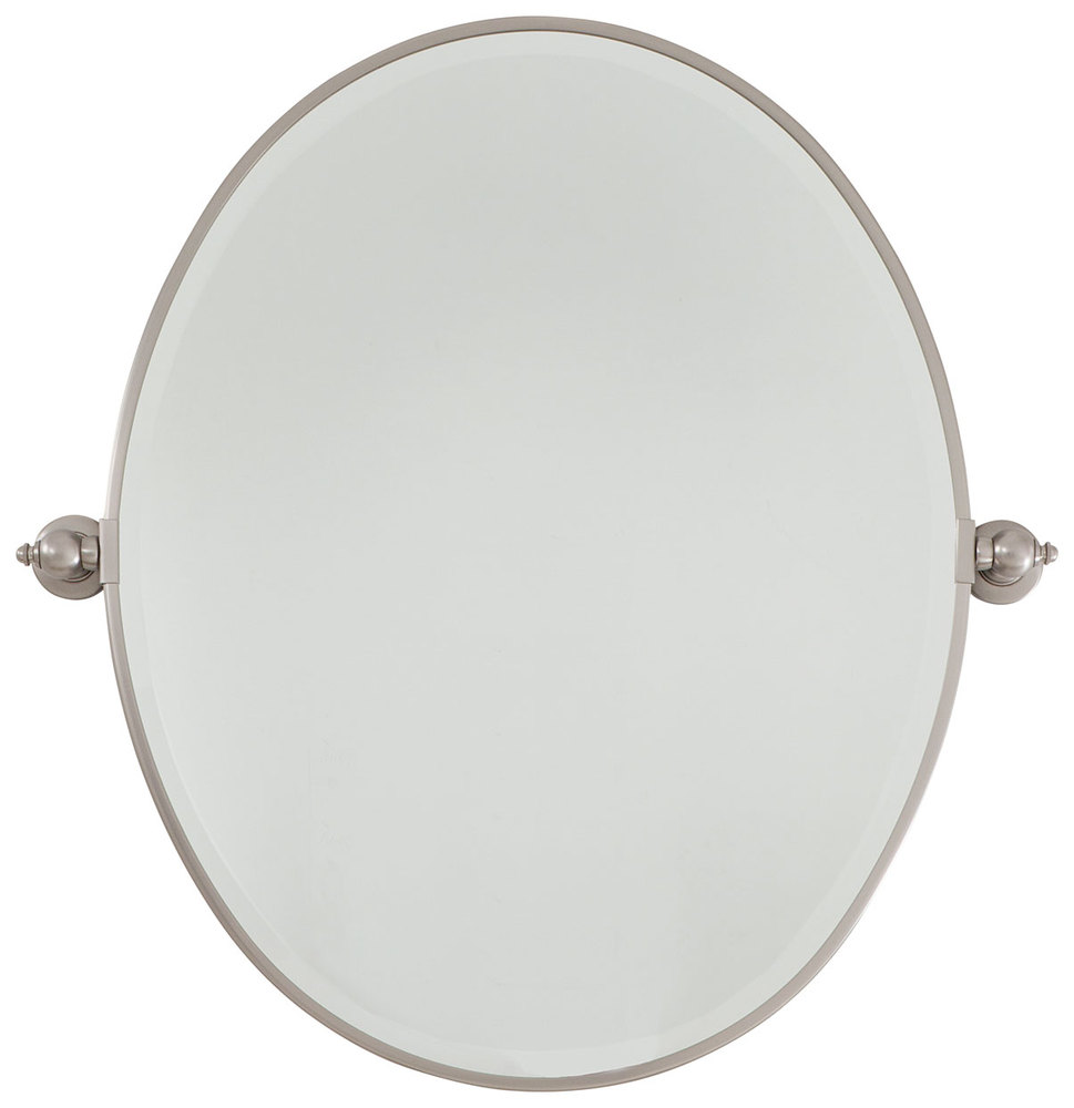 Wilkinson's House of Lighting in St.George, Utah, United States, Minka-Lavery 1431-84, Oval Mirror - Beveled,