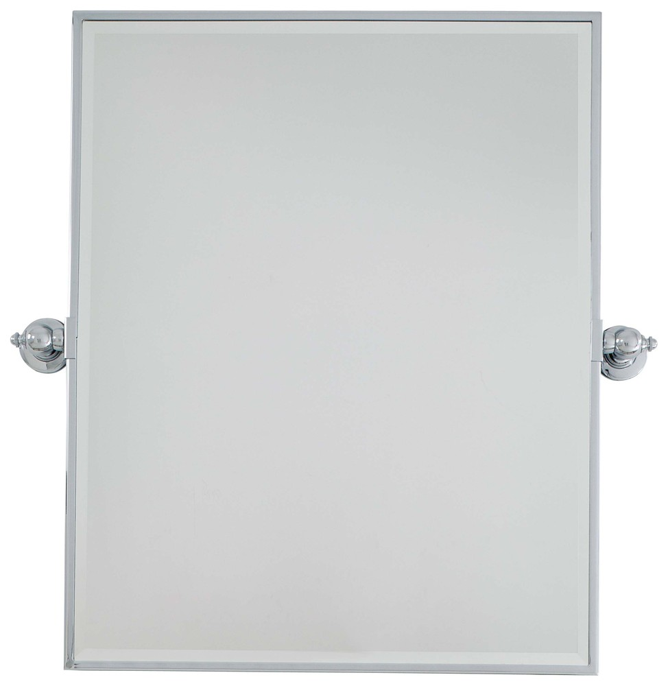 Wilkinson's House of Lighting in St.George, Utah, United States, Minka-Lavery 1441-77, Xl Rectangle Mirror - Beveled,