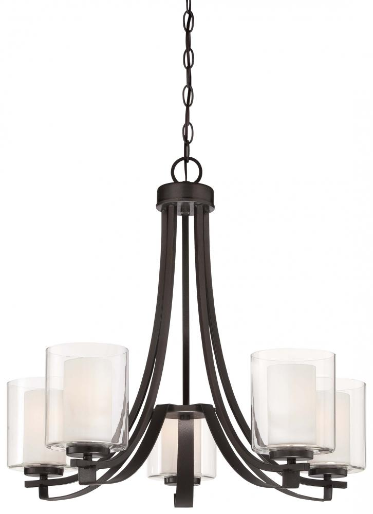 Wilkinson's House of Lighting in St.George, Utah, United States, Minka-Lavery 4105-172, 5 Light Chandelier, Parsons Studio