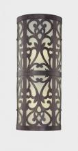 Minka-Lavery 1492-357-PL - Two Light Bronze Wall Light