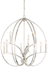 Minka-Lavery 4989-613 - 9 Light Chandelier