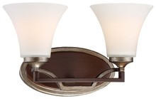 Minka-Lavery 5342-593 - 2 Light Bath