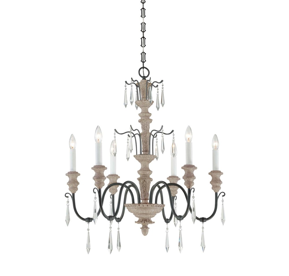 Madeliane 6 Light Chandelier