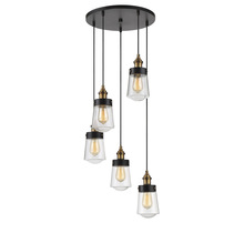 Savoy House 1-2061-5-51 - Macauley 5 Light Multi Point Chandelier