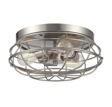 Savoy House 6-8074-15-SN - Scout 15 Inch Flush Mount