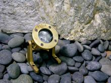 Focus Industries (Fii) SL-33-AB - Brass Underwater Light