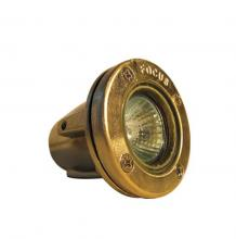 Focus Industries (Fii) SL-40-AB - Brass Underwater Light