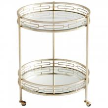 Cyan Designs 08831 - Gilded Meridian Bar Cart