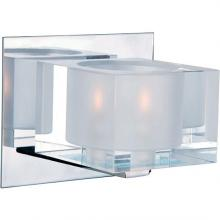 Maxim 10001CLPC - Cubic 1-Light Bath Vanity