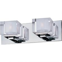 Maxim 10002CLPC - Cubic 2-Light Bath Vanity