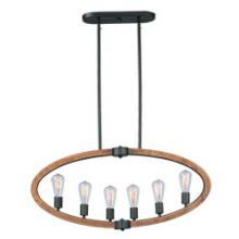 Maxim 20913APAR - Bodega Bay 6-Light Pendant