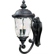Maxim 40424WGOB - Carriage House VX 3-Light Outdoor Wall Lantern