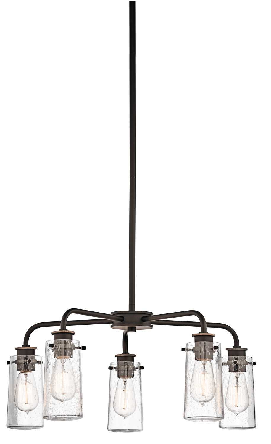 Wilkinson's House of Lighting in St.George, Utah, United States, Kichler 43058OZ, Chandelier 5Lt, Braelyn