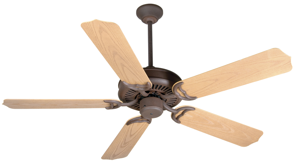 "Wilkinson's House of Lighting in St.George, Utah, United States, Craftmade K10737, Porch Fan 52"" Ceiling Fan Kit in Rustic Iron, Porch Fan"