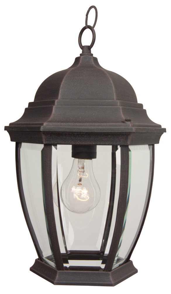 Wilkinson's House of Lighting in St.George, Utah, United States, Craftmade Z281-07, Outdoor Lighting, Bent Glass