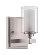 Craftmade 16705BNK1 - Celeste 1 Light Wall Sconce in Brushed Polished Nickel
