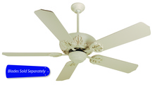 "Craftmade CV52AW - Cordova 52"" Ceiling Fan in Antique White (Blades Sold Separately)"