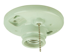 Craftmade K858-SO - 1 Light Porcelain Keyless Lamp Holder