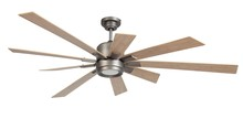 "Craftmade KAT72PT9 - Katana 72"" Ceiling Fan with Blades and LED Light Kit in Pewter"