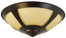 Craftmade LK204CFL-BN - 2 Light Bowl Fan Light Kit in Brushed Satin Nickel with Opal Frost Glass