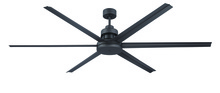 "Craftmade MND72ESP6 - Mondo 72"" Ceiling Fan with Blades in Espresso"