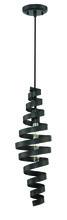 Craftmade P715MBK1 - 1 Light Mini Pendant in Matte Black
