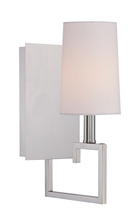 Crystorama 2251-PN - Libby Langdon for Crystorama Westwood 1 Light Nickel Sconce