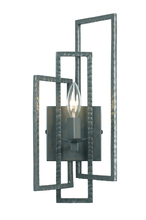 Crystorama 331-GY - Crystorama Capri 1 Light Gray Sconce