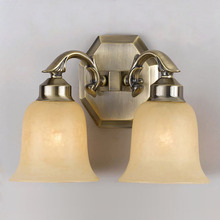 Crystorama 872-AG - Crystorama 2 Light Aged Brass Sconce
