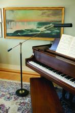 House of Troy PFL-617 - Grand Piano Counter Balance Floor Lamp