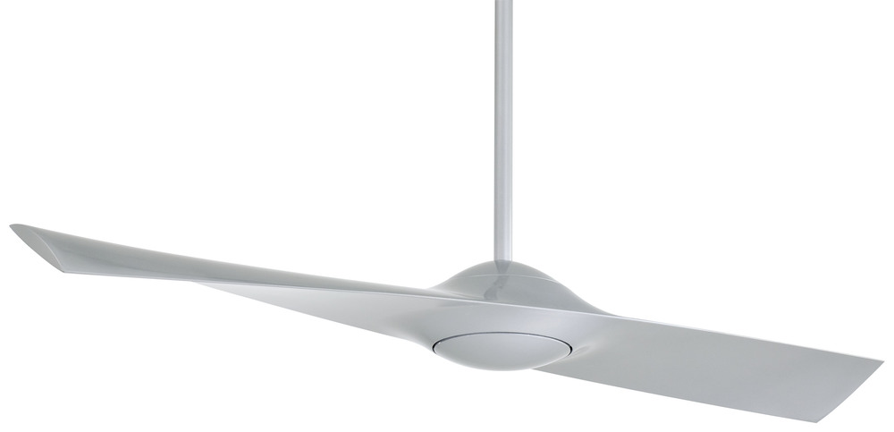 "Wilkinson's House of Lighting in St.George, Utah, United States, Minka-Aire F823-SL, Wing 52"" - Silver, Wing"