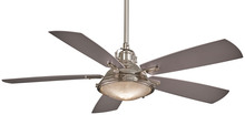 "Minka-Aire F681-PN - Groton 56"" - Polished Nickel"