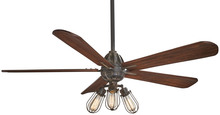"Minka-Aire F852L-TI - Alva (LED) 56"" - Tarnished Iron"
