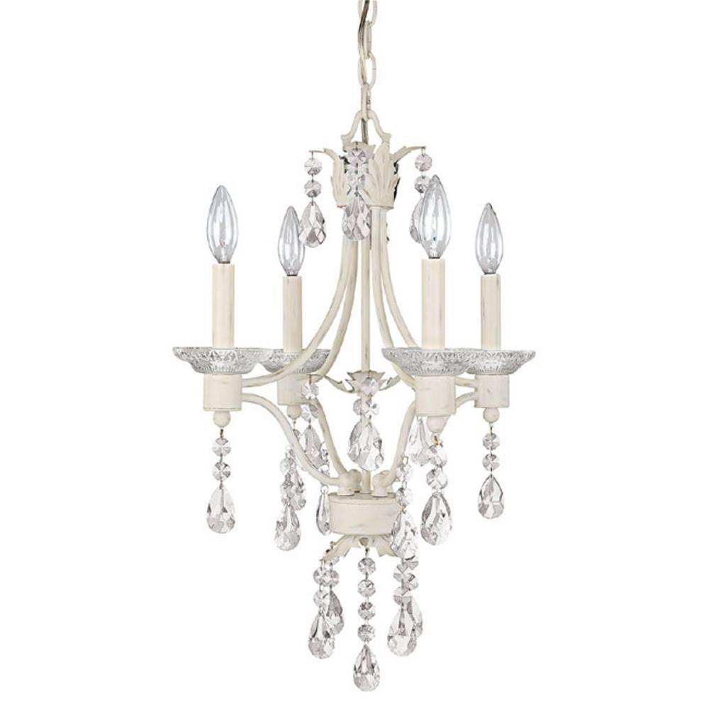 four light shabby chic up mini chandelier 4600sc 000 wilkinson 39 s. Black Bedroom Furniture Sets. Home Design Ideas
