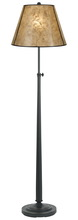 "CAL Lighting BO-2472FL - 63"" Height Iron Floor Lamp In Oil Rubbed Bronze"