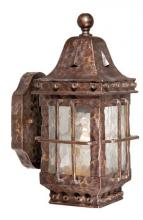 "Vaxcel International ED-OWD050CI - Edinburgh 5"" Outdoor Wall Light Colonial Iron"