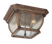 Troy C2080BI - Two Light Bronze Outdoor Flush Mount