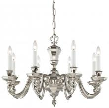 Minka Metropolitan N1115-613 - Polished Nickel Up Chandelier