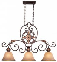 Minka Metropolitan N6233-355 - Golden Bronze Salon Scavo Glass Island Light