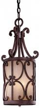Minka Metropolitan N6243-355 - Golden Bronze Salon Scavo Glass Framed Glass Foyer Hall Fixture