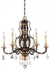 Minka Metropolitan N6456-652 - 6 Light Chandelier