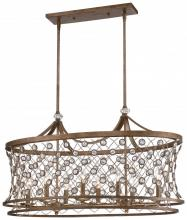 Minka Metropolitan N6589-272 - Eight Light Island Arcadian Gold