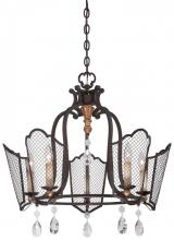 Minka Metropolitan N7115-258B - Cortona - Five Light Chandelier