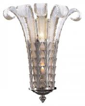 Minka Metropolitan N950386-54B - Brass White Murano Glass Wall Light