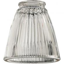 "Quorum 2531 - 2.25"" CLEAR RIBBED BELL"